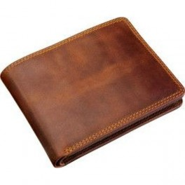 Pánska kožená peňaženka hnedá farba