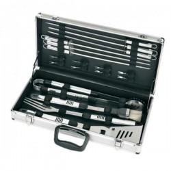 Grilovacie náradie v kovovom kufríku 18 kusov