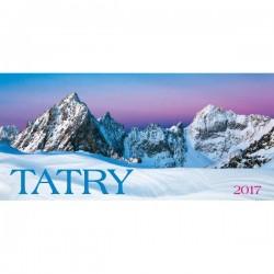Stolový stĺpcový kalendár Tatry 2017