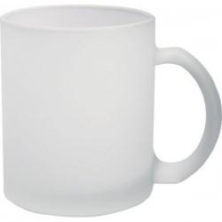 INREA sklenený hrnček 0,25 l biela