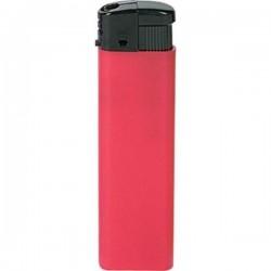 Plastový piezoelektrický zapaľovač červený