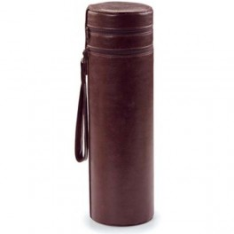 Okrúhla taška na víno s pomôckami na servírovanie vína