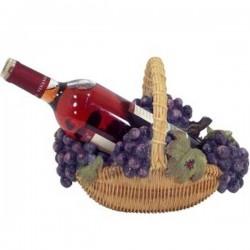 Stojan na víno košík