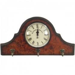 Nástenné retro hodiny - vešiak