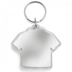 Prívesok na kľúče v tvare trička