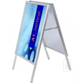 Reklamný stojan áčko - profil 32 mm