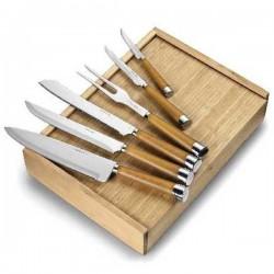 Súprava kuchynských nožov v drevenej darčekovej krabičke