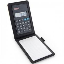 Poznámkový blok s kalkulačkou