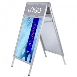 Reklamné áčko s logom - Design A-Board Compasso C1