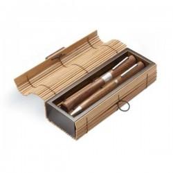 Bambusové pero a roller v darčekovej krabičke
