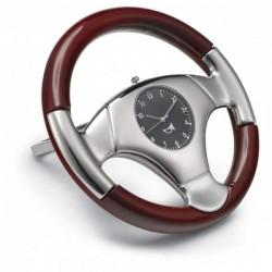 Stolné hodiny v tvare volantu
